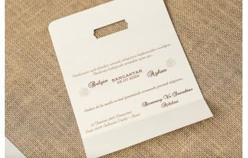 İklim Davetiye |  Wedding 8306