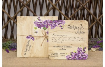 İklim Davetiye |  Wedding 8335