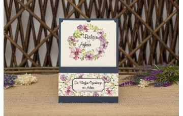 İklim Davetiye |  Wedding 8348