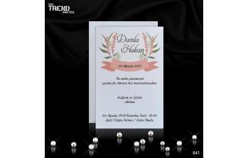 Trend Davetiye | 841