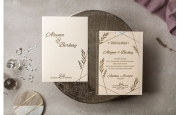 İklim Davetiye |  Wedding 8401