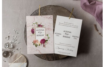 İklim Davetiye |  Wedding 8430