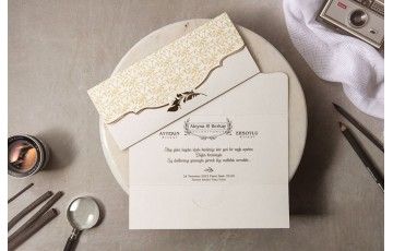 İklim Davetiye |  Wedding 8452